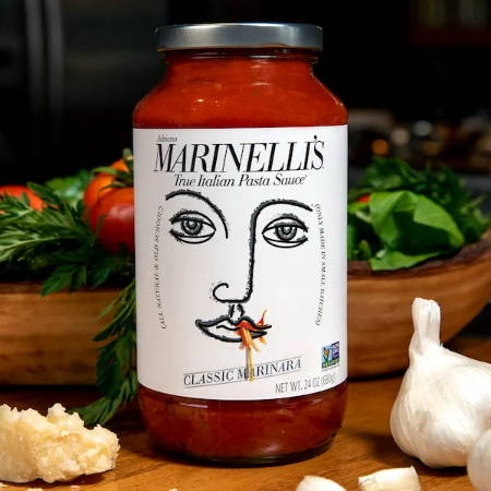 True Italian Pasta Sauce Marinelli's Classic Marinara