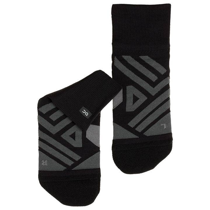 On Mid Socks Men's black/shadow