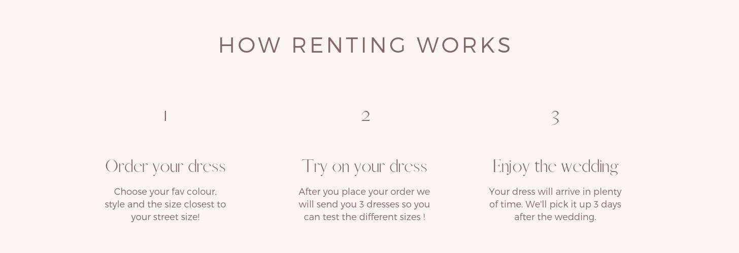 how to rent bridesmaid dresses in united states online