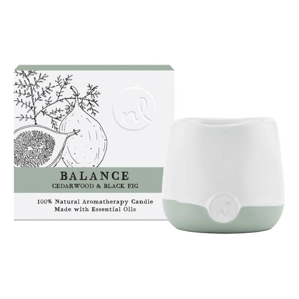 Balance Candle - Cedarwood & Black Fig
