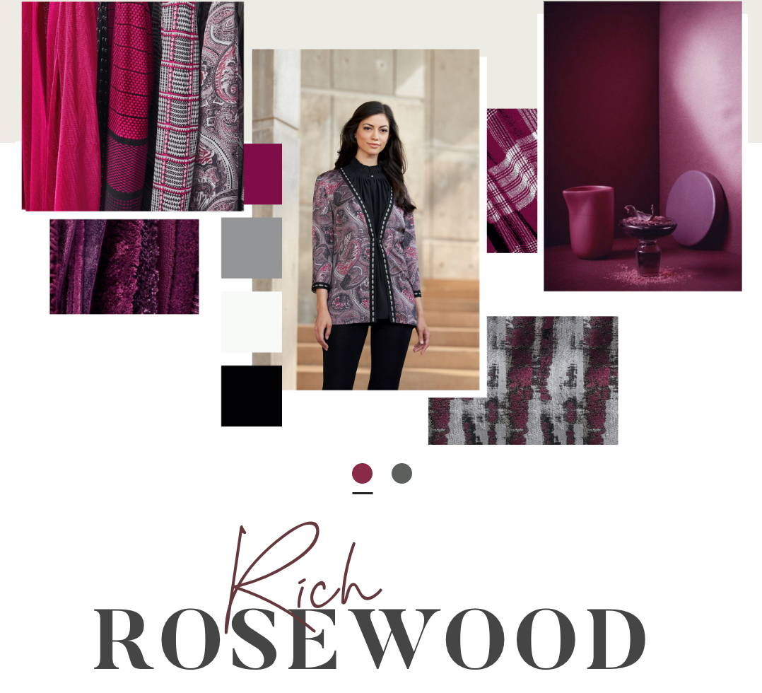 Color: Rich Rosewood