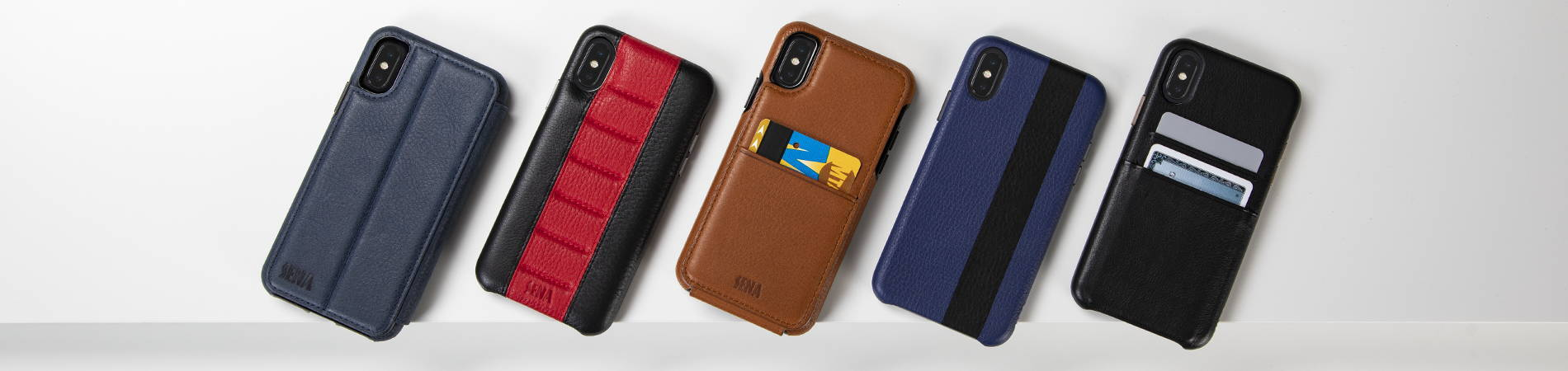 Leather Phone Cases Styles from SENA Cases
