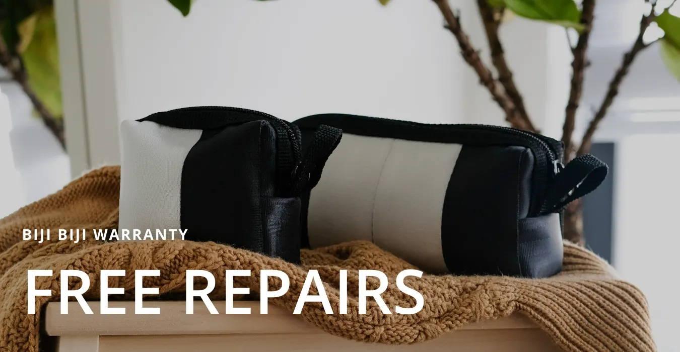 biji biji warranty free repairs