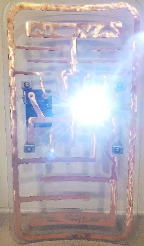 Nova Stun Capture Shield with FoxFury Taker R40 Shield Light
