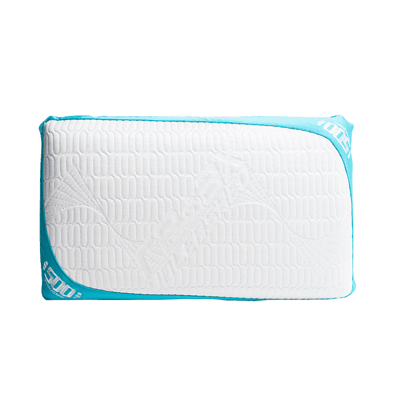 Optimal Sleep page. REM-Fit 500 cooling pillow