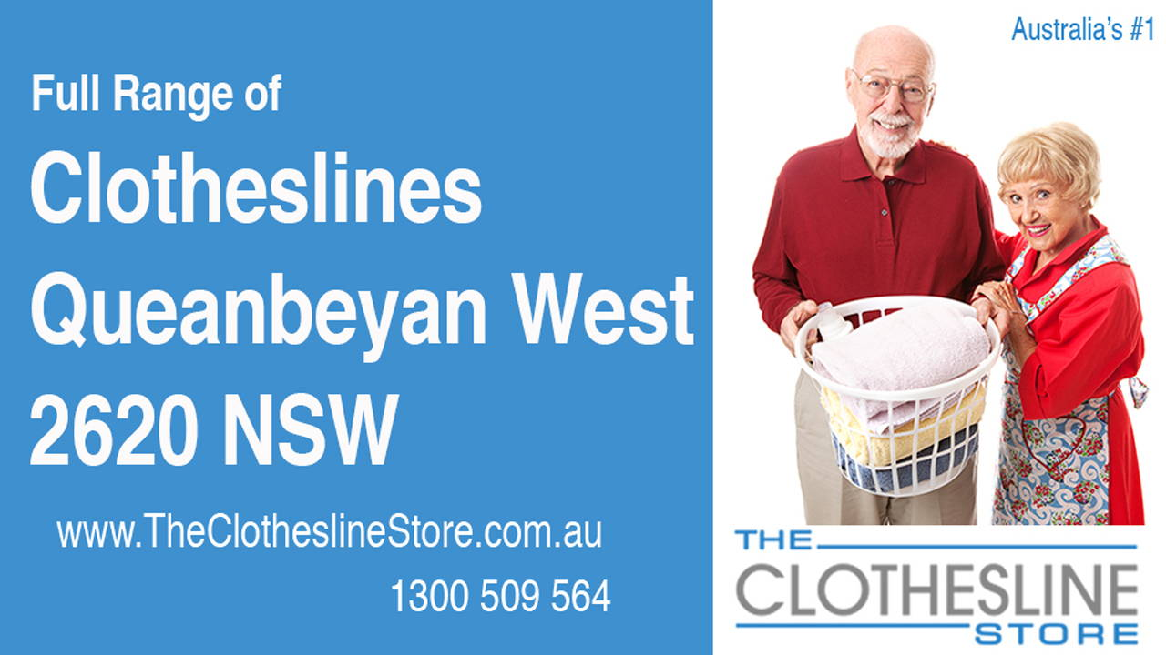 New Clotheslines in Queanbeyan West 2620 NSW