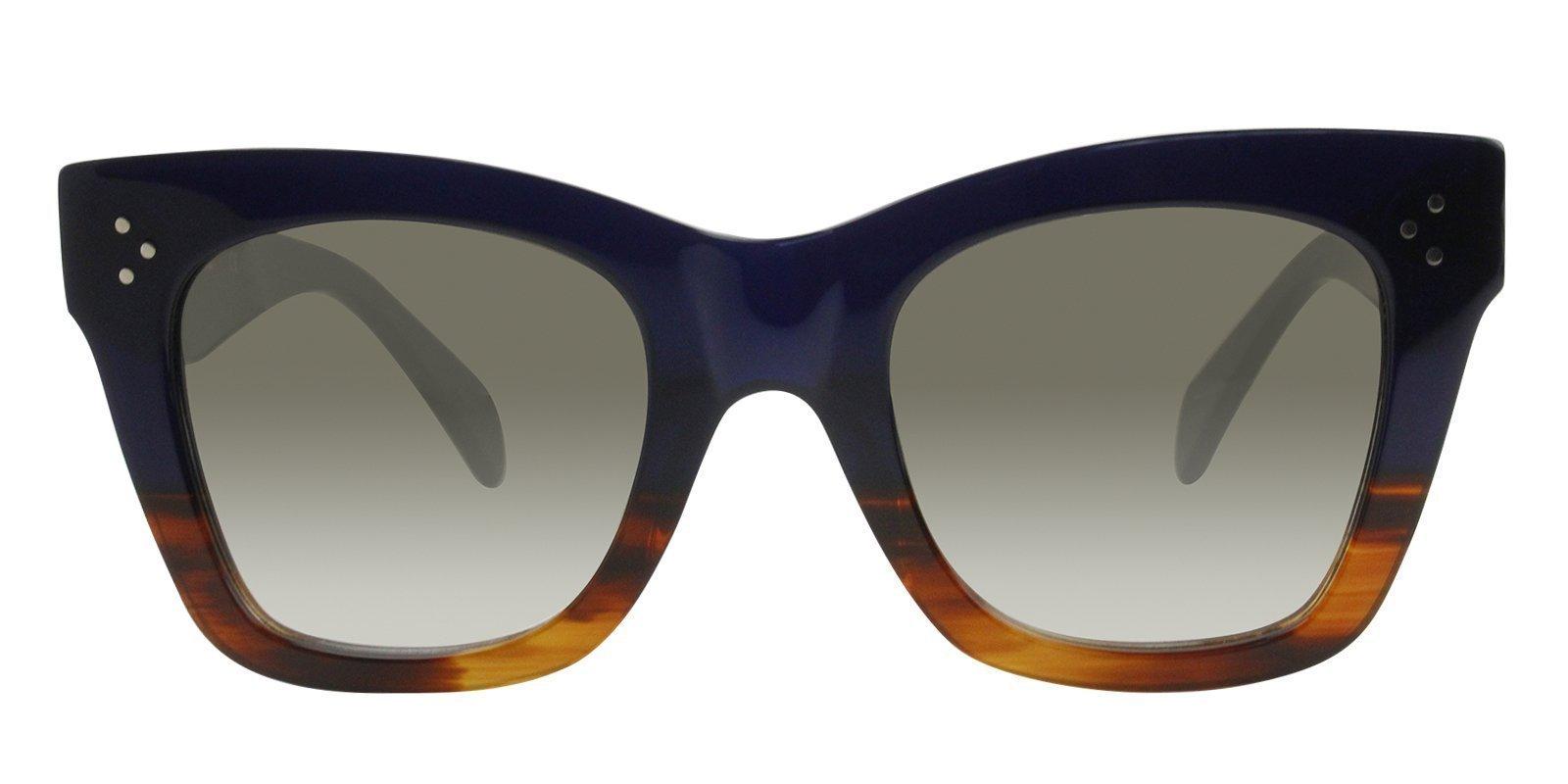 e9677ac96a4fc Irina Shayk Wearing Celine CL41098FS Sunglasses– Designer Eyes