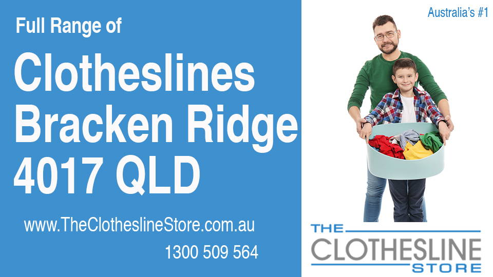 New Clotheslines in Bracken Ridge Queensland 4017