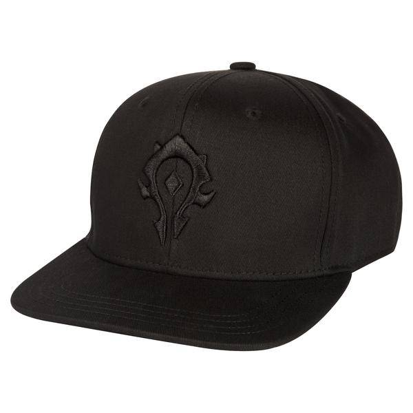 WORLD OF WARCRAFT BLACKOUT HORDE SNAP BACK HAT