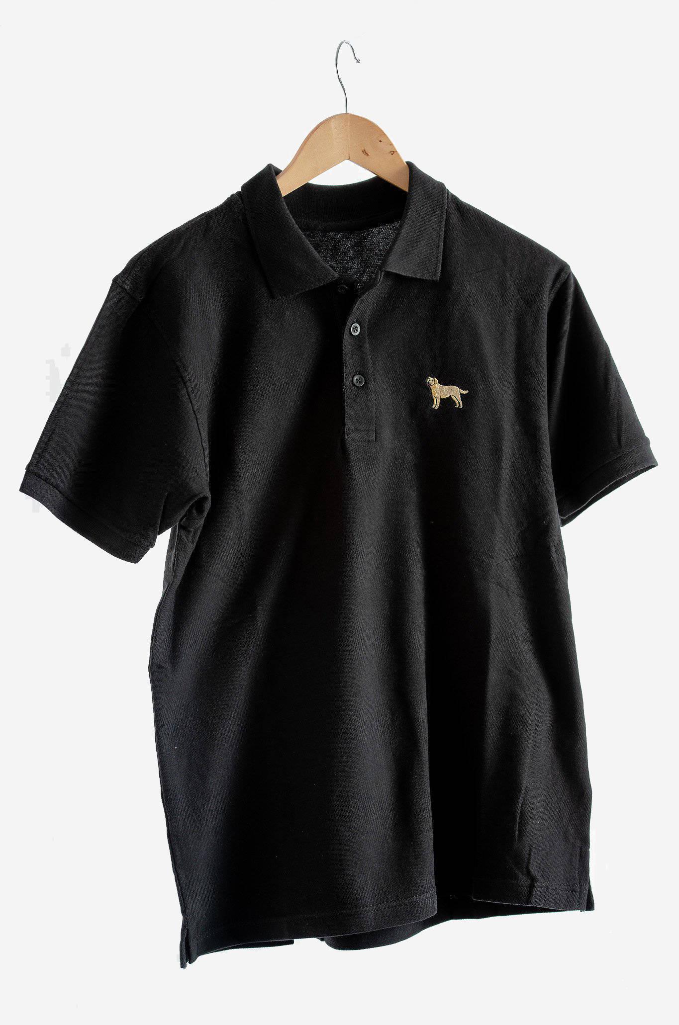 black labrador polo
