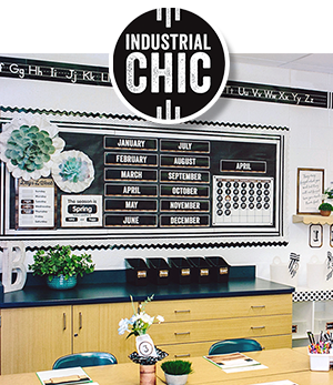 Industrial Chic Classroom Collection