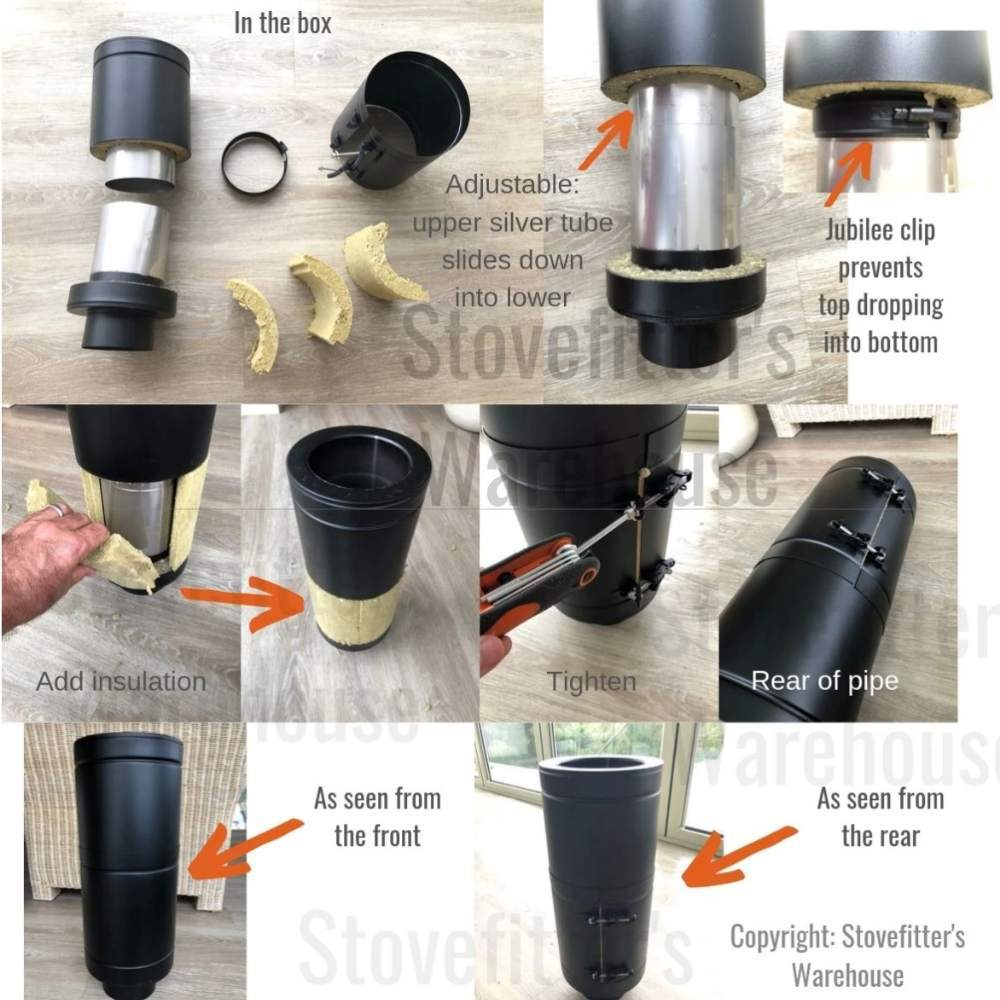 removable stove visual guide