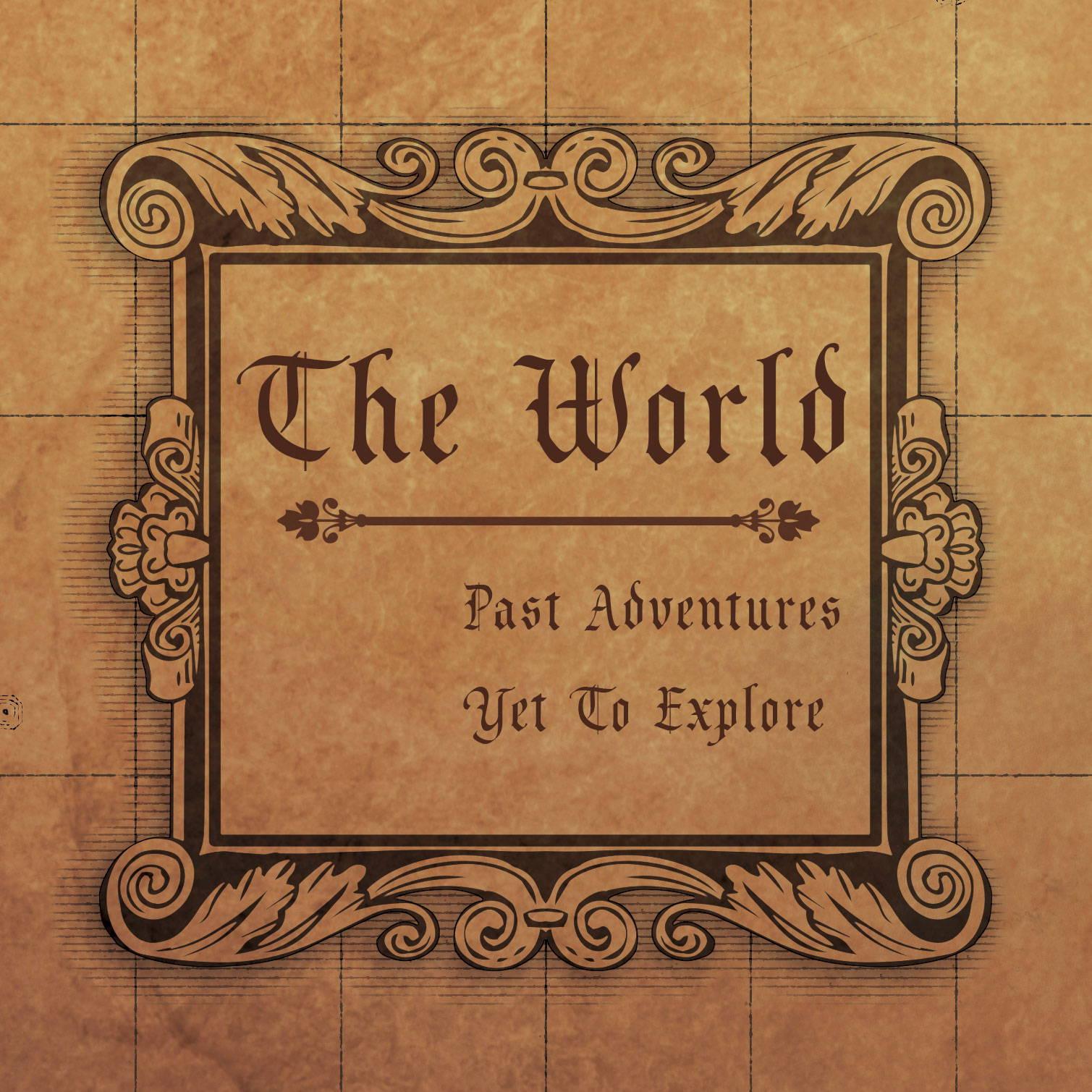 Conquest Maps Golden Aged World Legend