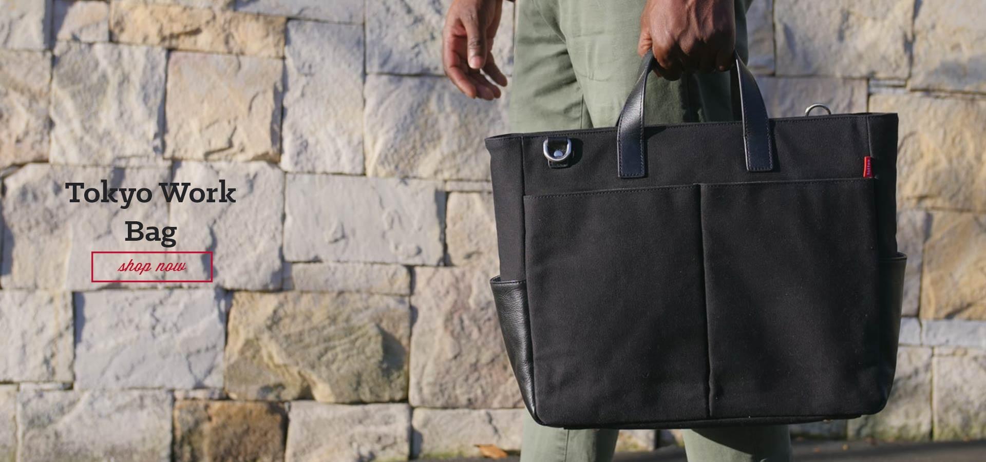 Tokyo Work Bag in Black
