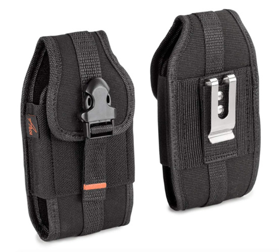 janam xt2 Canvas Case Holster Pouch Cover Card Holder Belt Clip Rugged