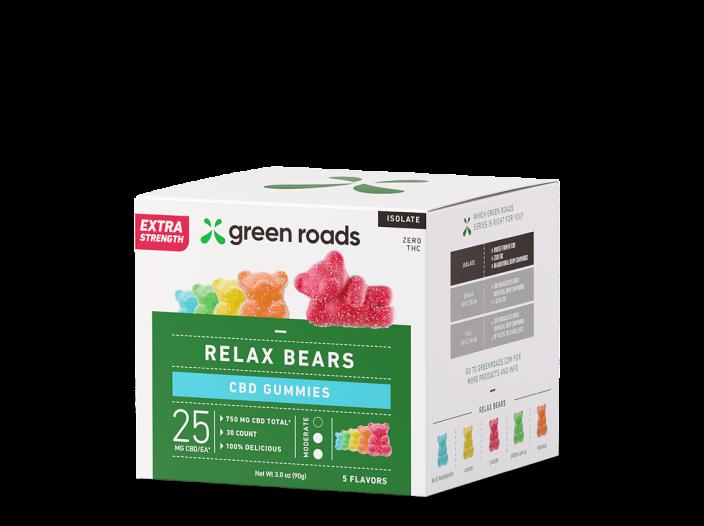 Extra Strength Relax <br> Bears Gummies