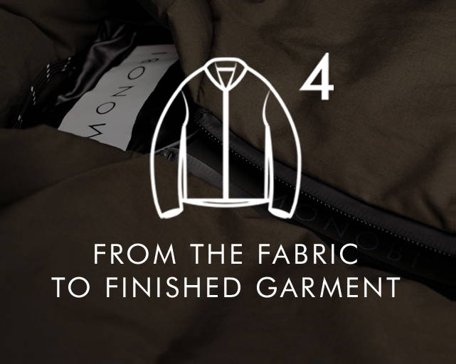 From the fabric to the finished garment