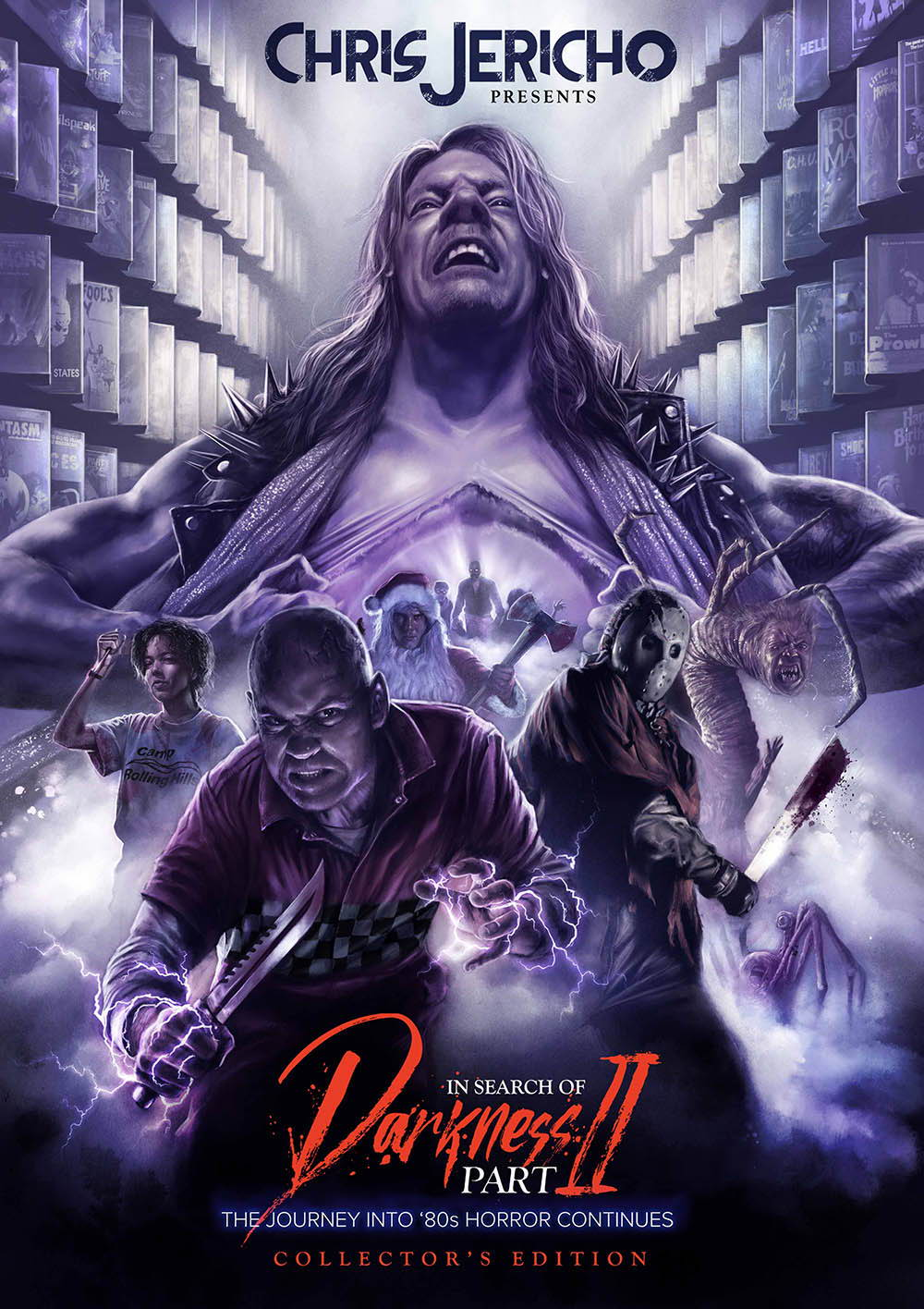 In Search of Darkness: Part II, Chris Jericho poster
