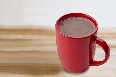 Healthy Hot Cocoa Double Chocolate