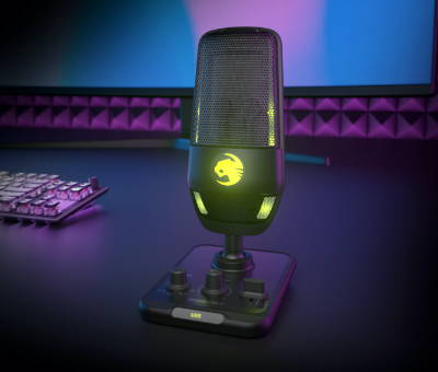 Streaming mics from Roccat