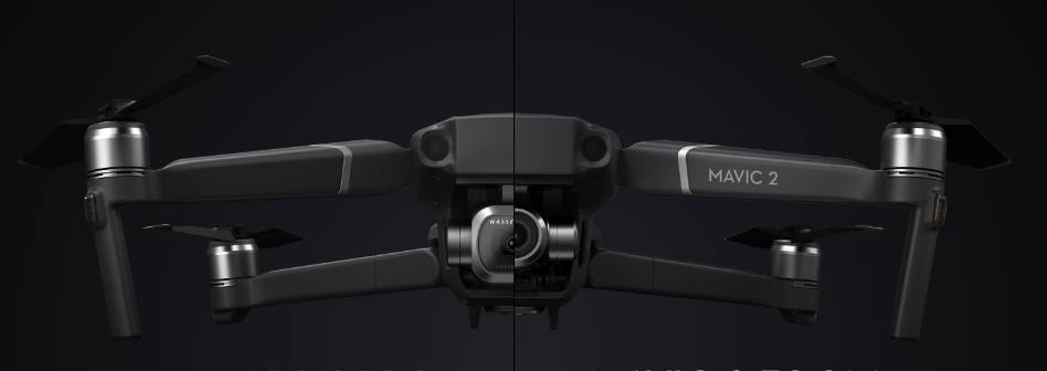dji mavic 2 comparar