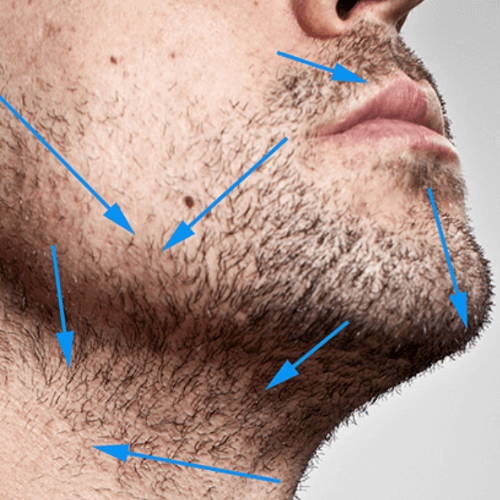 Curly Hair Tip - Shave in the Direction of The Grain