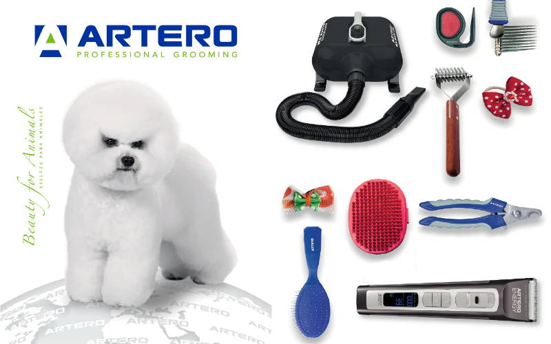 ARTERO professional grooming tools, equipment & cosmetic mobile banner