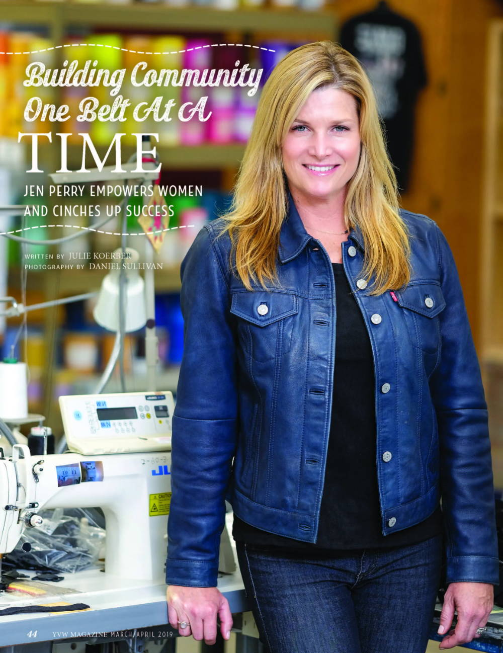 Jen Perry featured in Yellowstone Valley Women: Building Community One Act at a Time