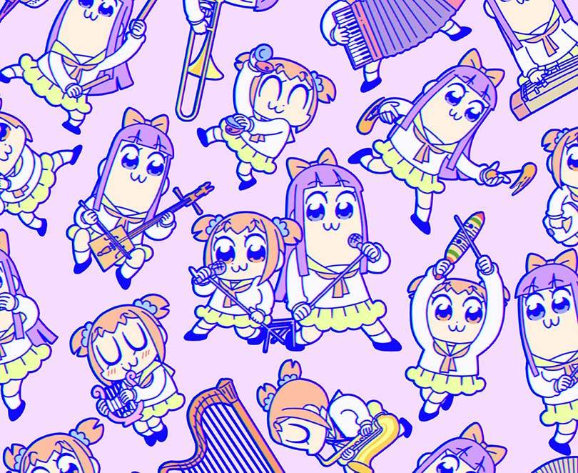 Anime Music CDs downloads Pop Team Epic JPU Records