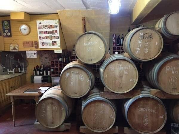 Weinkeller von My Wyn in Franschhoek