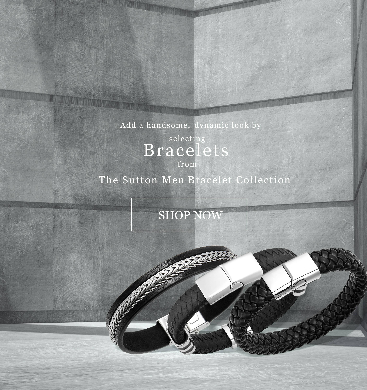 The Sutton Men Bracelet Collection