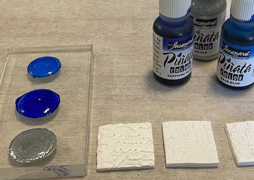 tinting your polymer clay