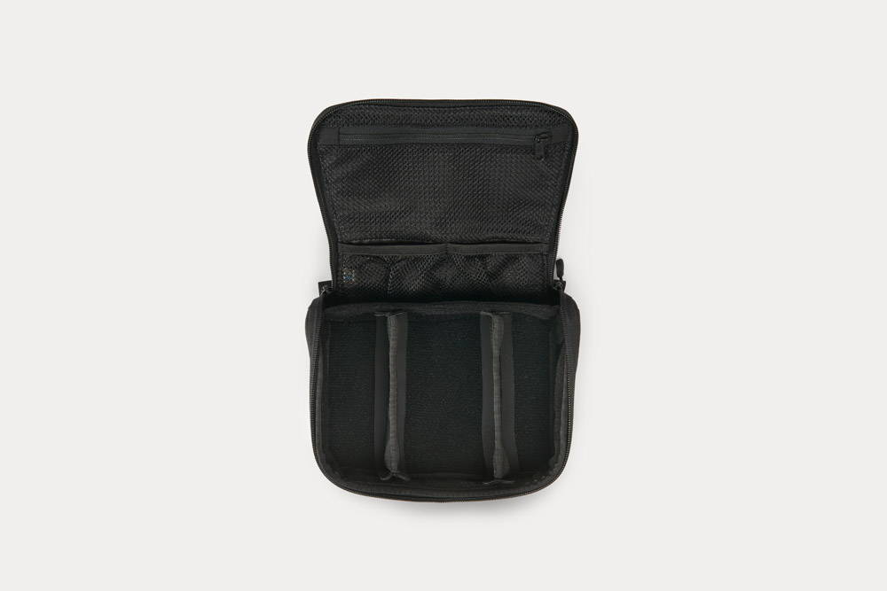Minaal Toolcase - A tech or dopp kit for travelers and creatives.