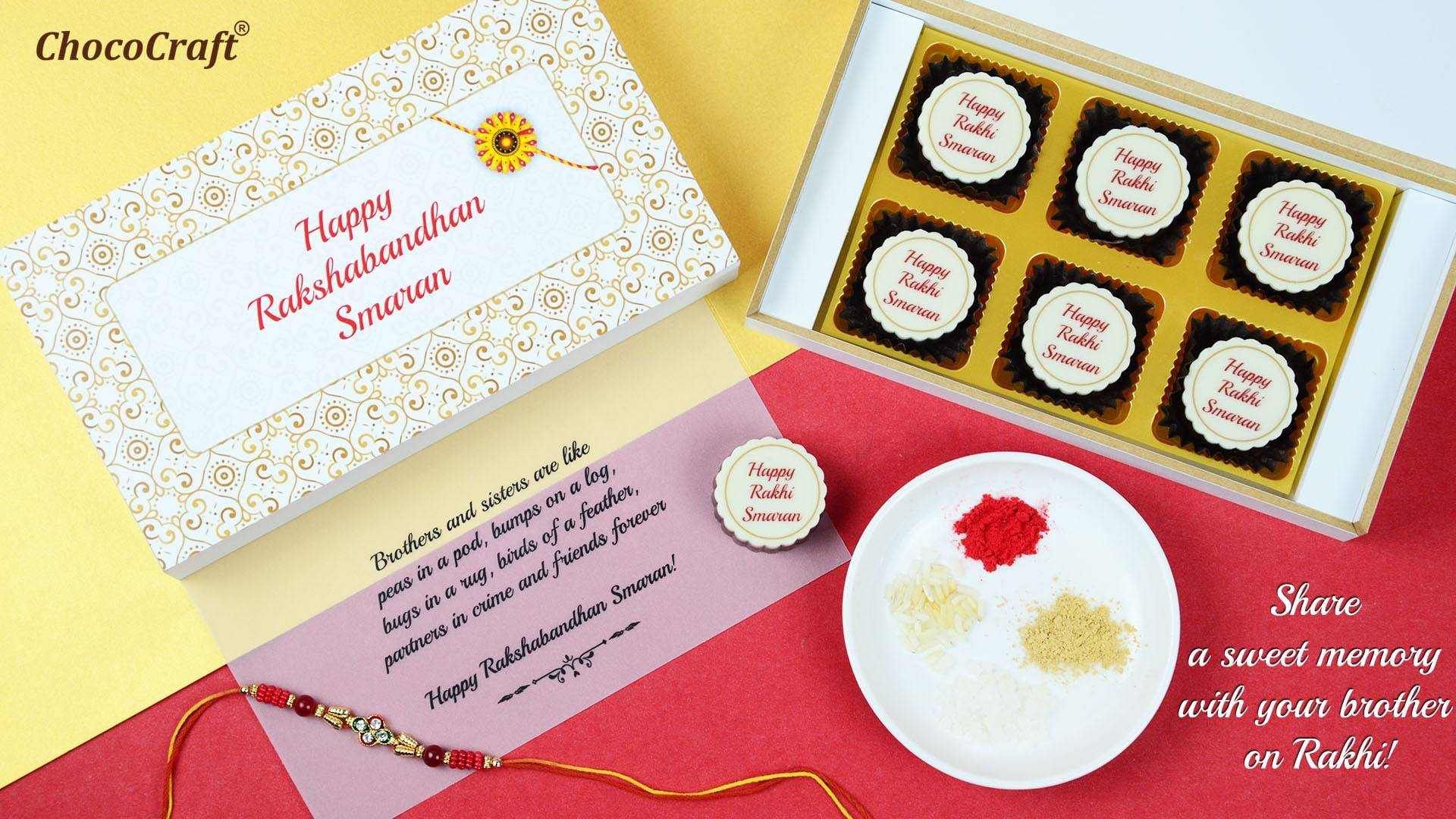 Chocolate Gifts with Rakhi