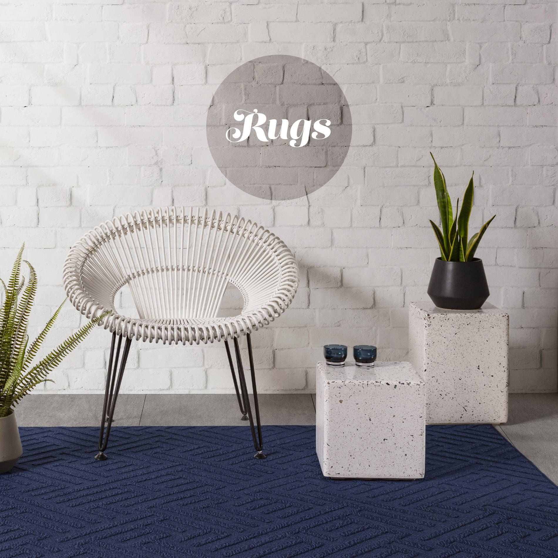 Blue Rugs - Home Accessories