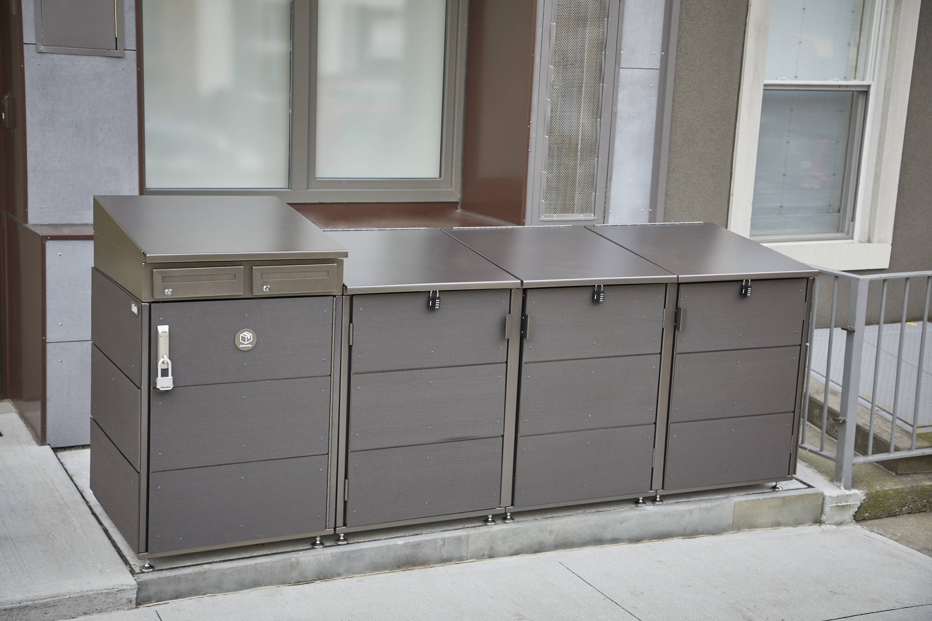 Package Delivery Lock Box For Home Parcel Drop Box Citibin