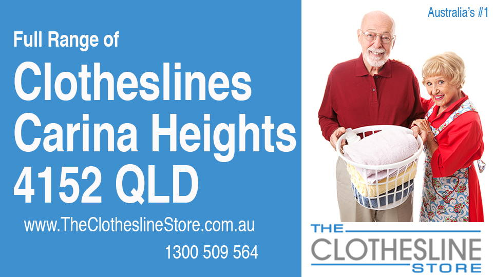New Clotheslines in Carina Heights Queensland 4152