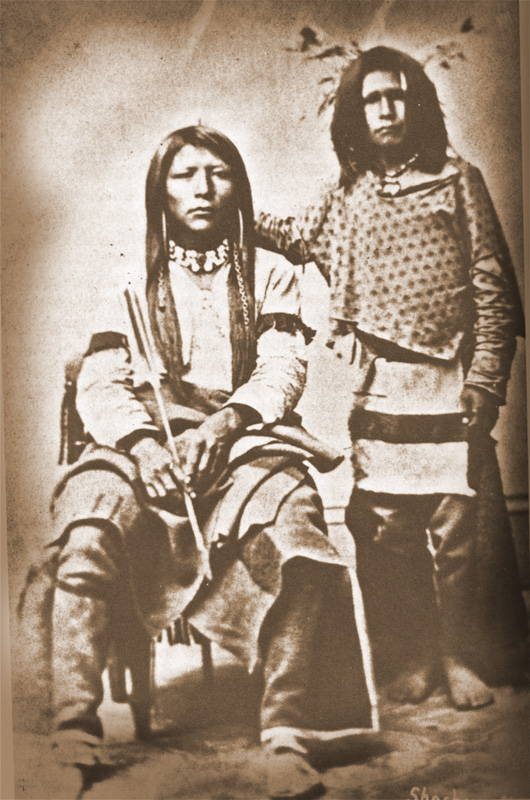 Photo of Local Shoshone Indians