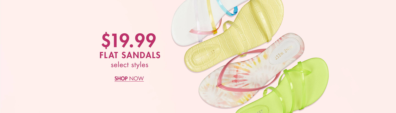 €19.99 Flat Sandals