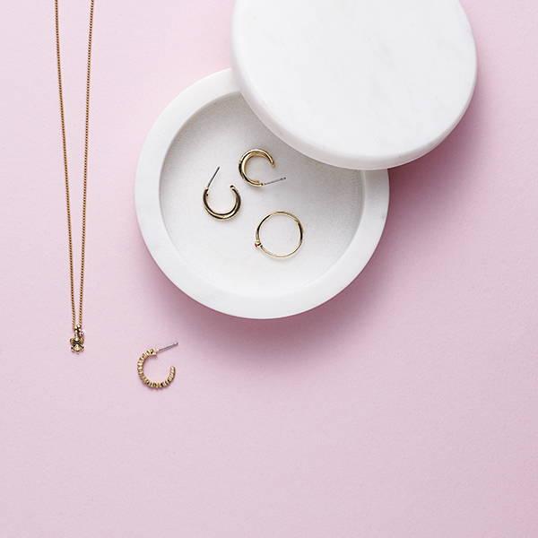 Shop guldbelagte smykker