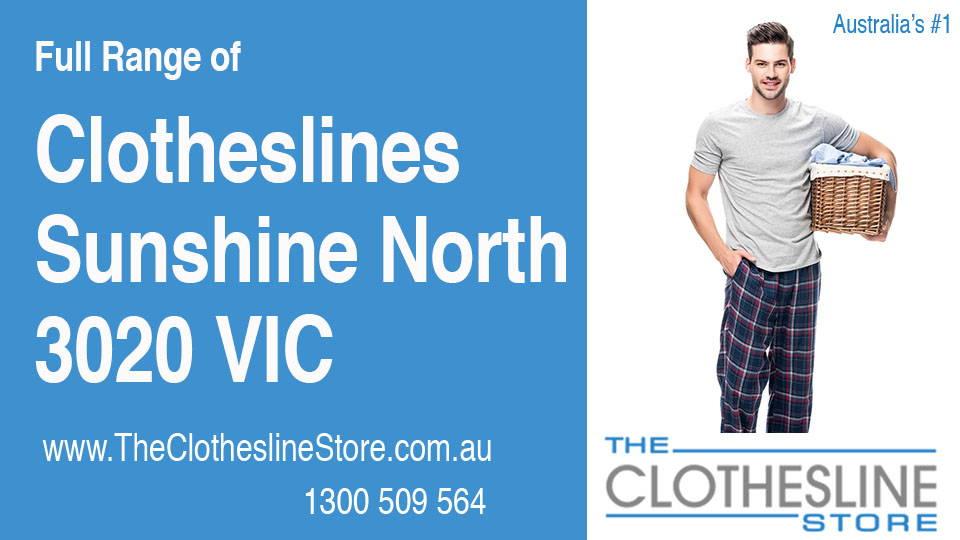 New Clotheslines in Sunshine North Victoria 3020