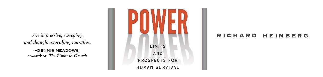 Power by Richard Heinberg