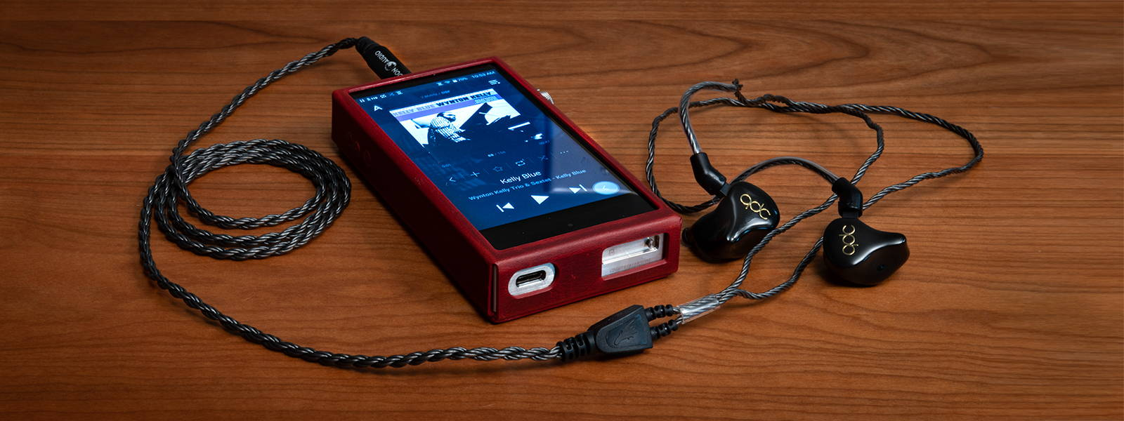 qdc 8SS IEM with Black Dragon IEM cable and Astell&Kern SP1000 DAP