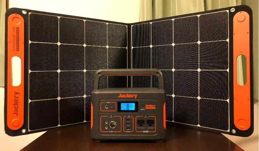 ポータブル電源 700 ソーラーパネル 100