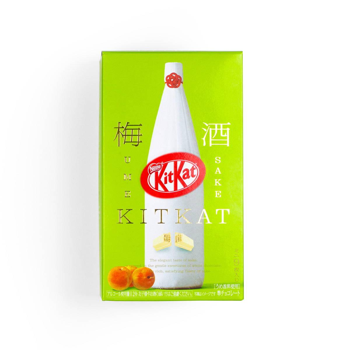 Ume Sake Kit Kat