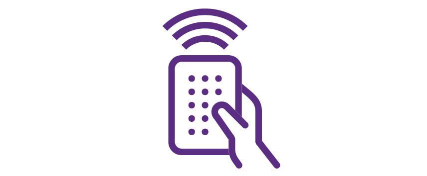 Icon for wireless remote