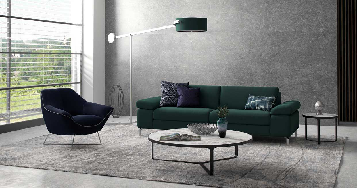 Design a ROM sofa within 10cm increments