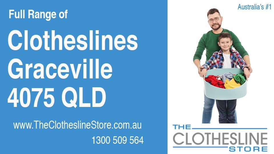 New Clotheslines in Graceville Queensland 4075