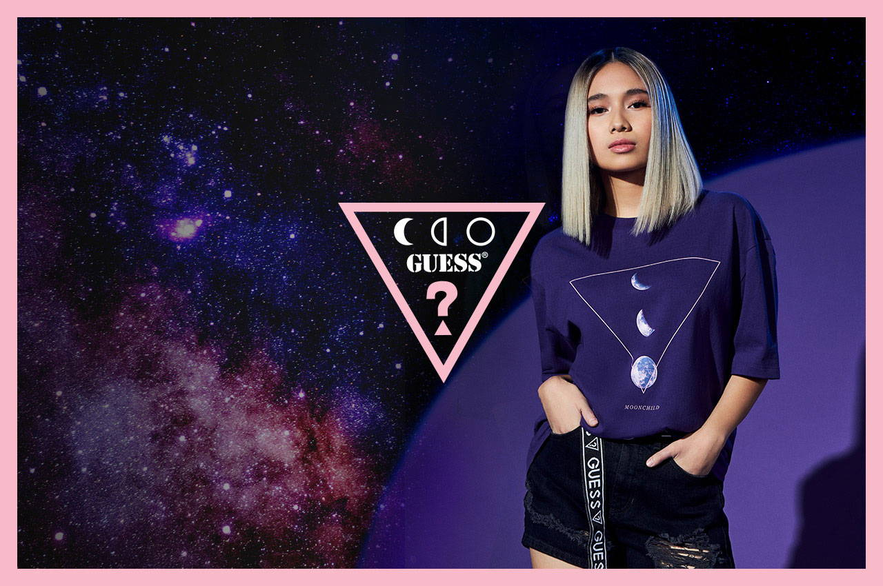 GUESS Originals x Niki Moonchild mens and womens apparel tees collection