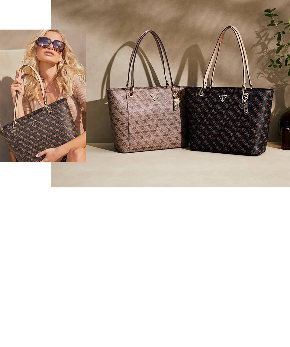 guess handbags and wallets